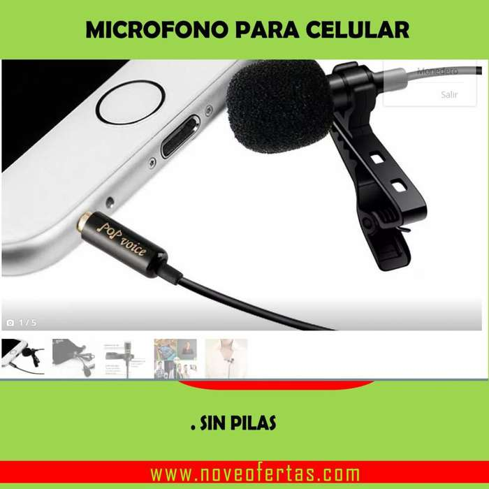 micrófono para celular