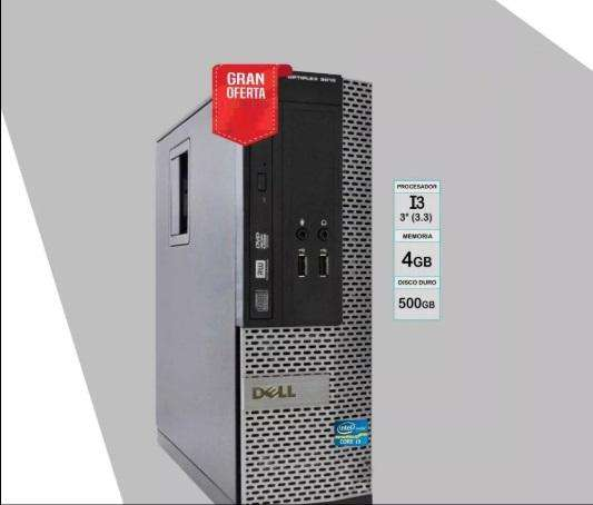 PC <strong>dell</strong> OPTIPLEX 3010 CORE I3 (3RA.GEN.)