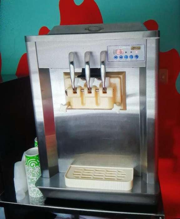 Maquina para Helado Suave Y Refrigerado