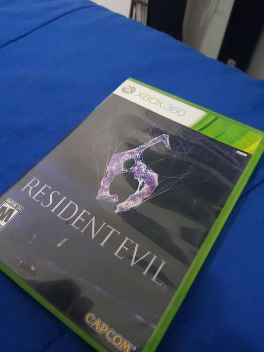 Resident Evil 6 Xbox360 Original, Nuevo