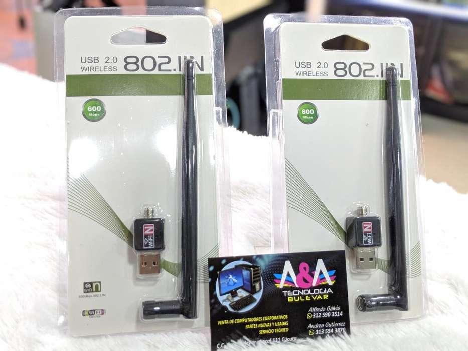 Wifi Usb 600mbps Nuevas