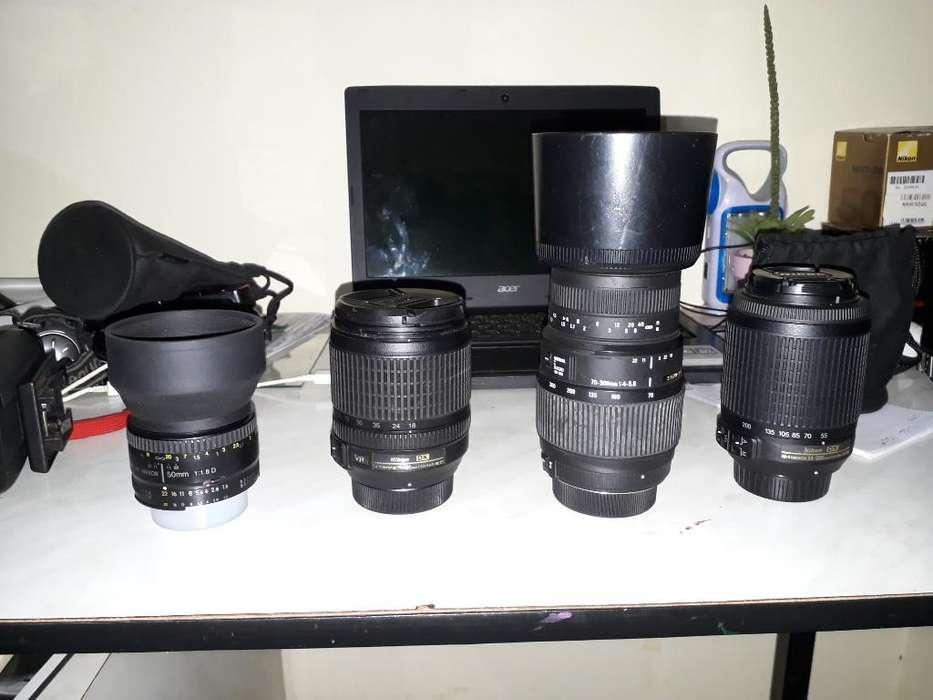 Lentes para Reflex Nikon.