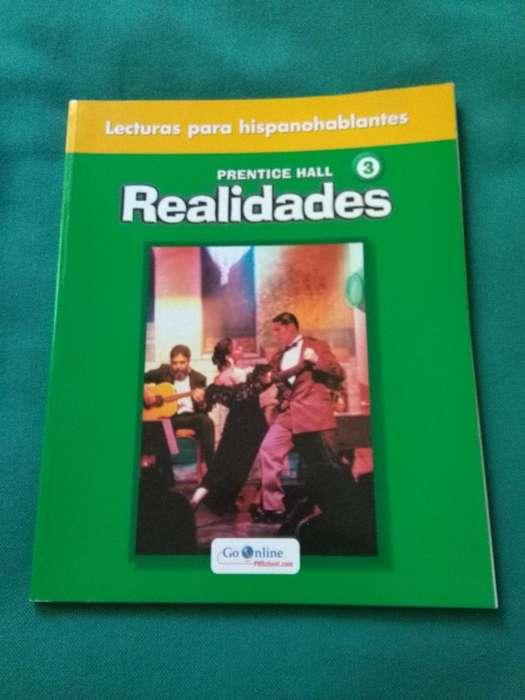 PRENTICE HALL REALIDADES 3 LECTURAS PARA HISPANOPARLANTES LIBRO IMPECABLE
