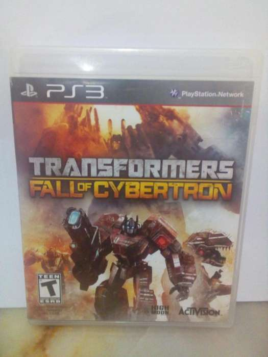 Transformers fall of cybertron Play Station 3 Juego Ps3 - Insertcoin