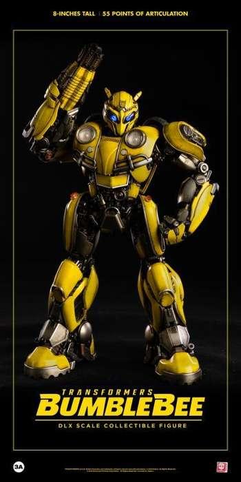 Figura Threea Transformes - Bumblebee Deluxe