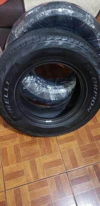 2 <strong>llanta</strong>s Pirelli 255_70 R16 (poco Uso)