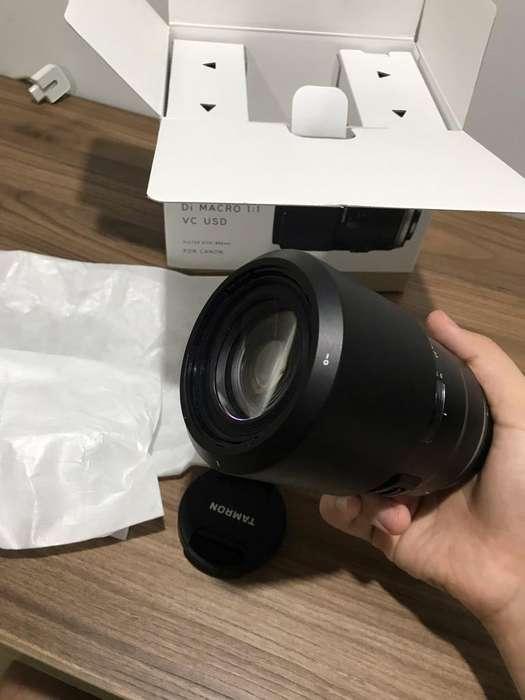 Lente Tamron 90Mm F2.8 Macro para Canon