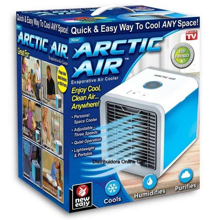 Aire Acondicionado Portatil Personal Ventilador Arctic Air 3 En 1 Usb 7 Color