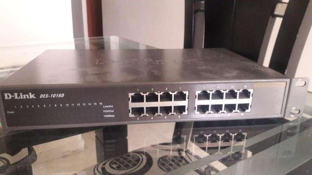 Switch de 16 Puertos D Link