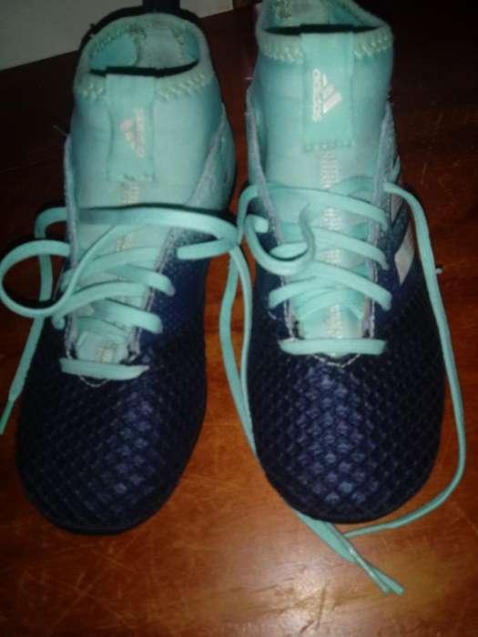 Botines Adidas Un Mes de Uso! Impecables