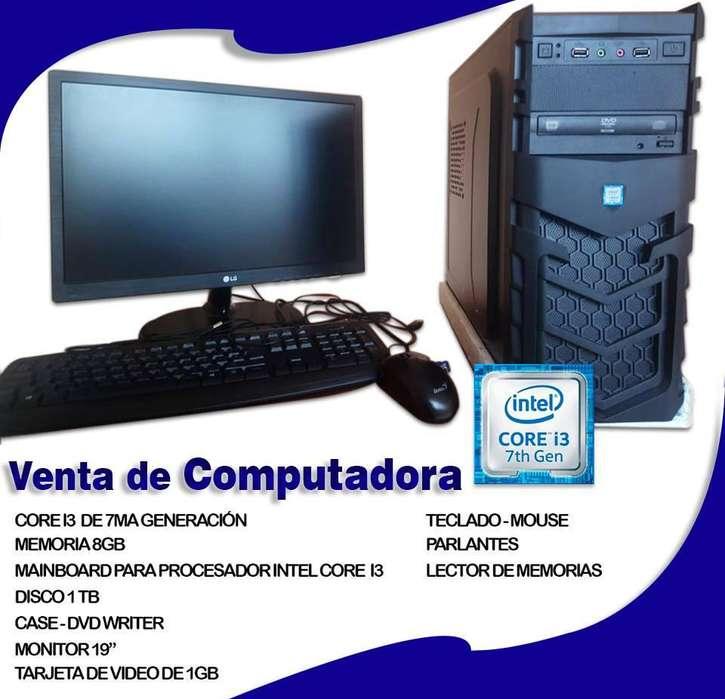 Computadora Core I3 7ma Generacion