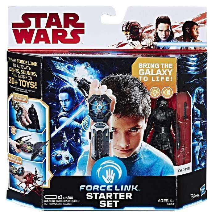 Star Wars Force Link Starter Set incluye Force Link