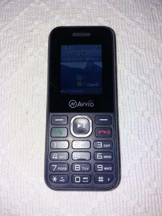 Celular Avvio A300 128MB Cámara 1.3MP 3G