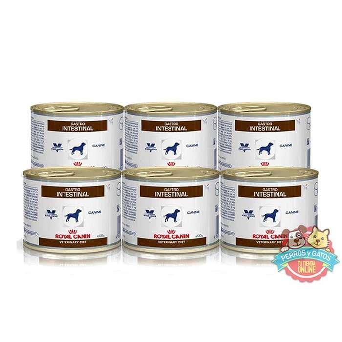 Royal Canin Gastrointestinal Canine - 6 latas