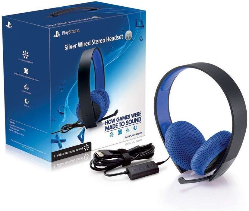 Audifonos Silver Play Station 4
