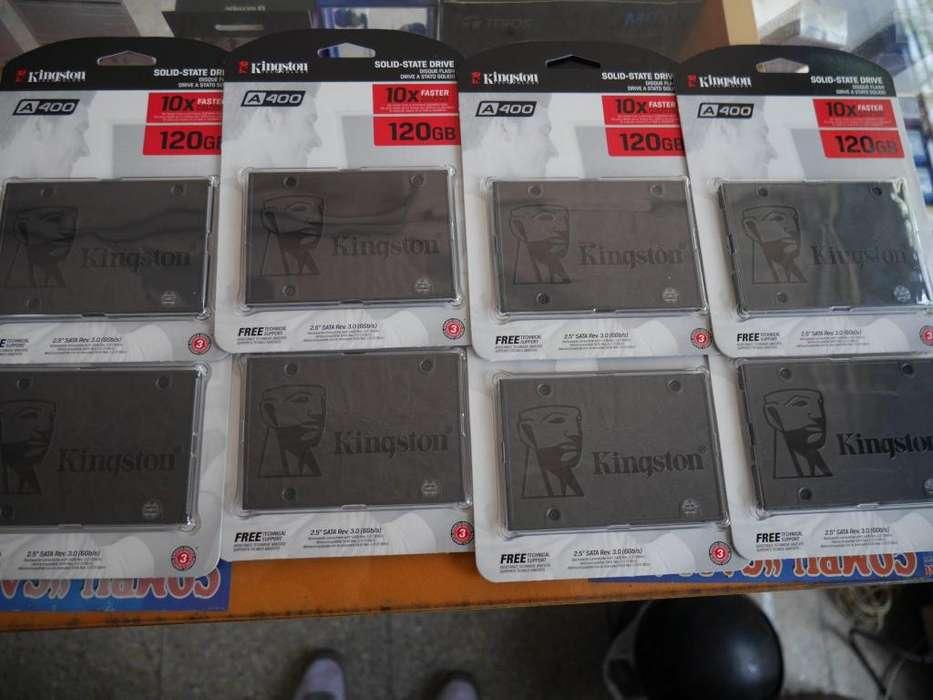 REMATO SSD KINGSTON 120GB SELLADOS