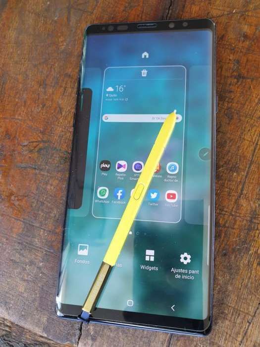 Vendo Cambio Samsung Note9
