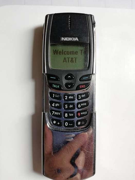 Antiguo Celular Nokia 8860 Tecnlogia Cdma Obsoleta En Colombia No Es De Simcard NO TRABAJA