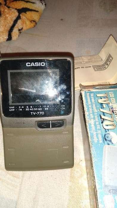 Televisión Portátil Color Casio