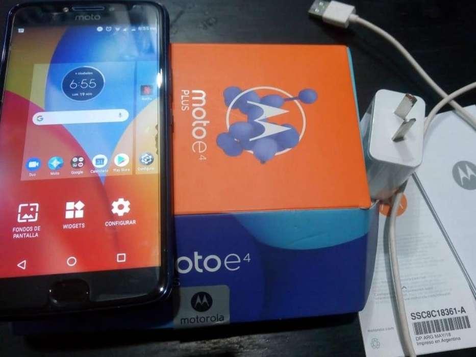Moto E4 Plus Unico Azul Libre