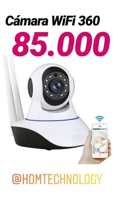Cámara Vigilancia Wifi 360 Smartphone