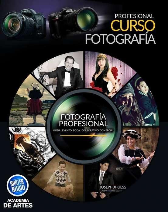 Curso: Fotografía Profesional y Filmación de Cine