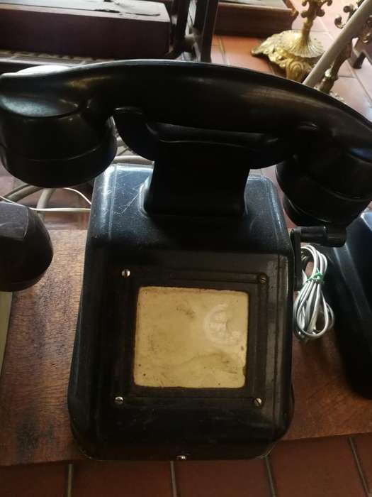 Teléfono de Manivela