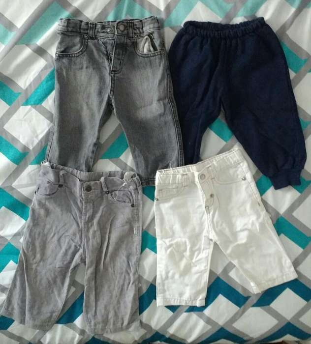 4 Pantalones para Bebé