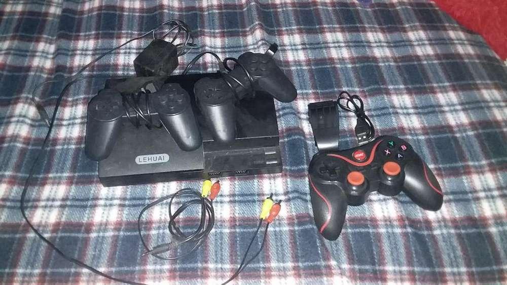 Vendo Gamepadx3 Consola de Juegos Clasic