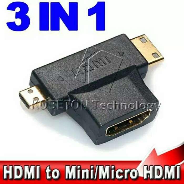 Adaptador Hdmi Micro Hdmi Mini Hdmi