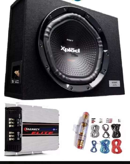 Vendo Subwoofer Sony 1800w