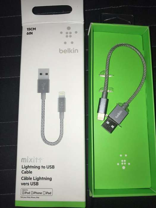Cable Usb Belkin - iPhone