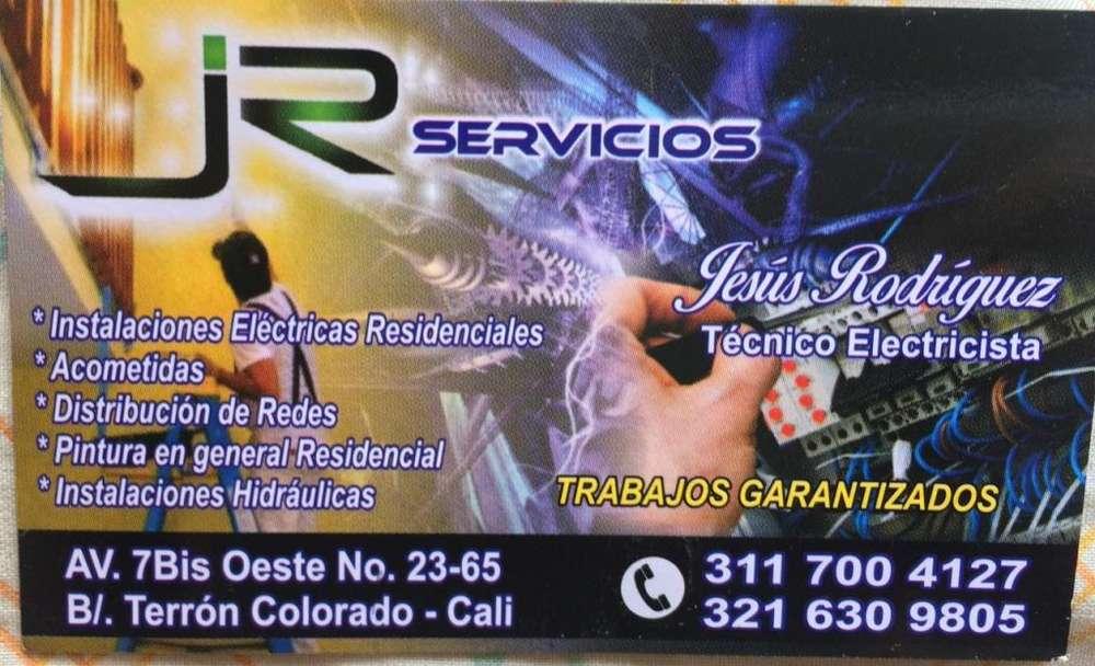 ofresco servicios en eletricidad, pintura, instalaciones hidraulicas y todo lo relacionado en general