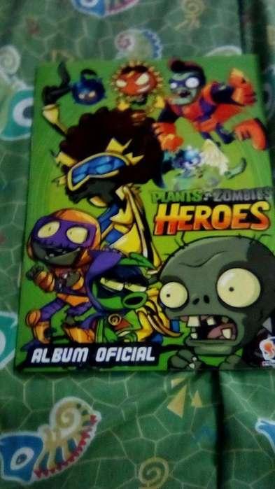 Album de Plantas Vs Zombies Heroes