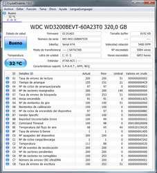 EXCELENTE DISCO DURO 320 PORTATIL CERO ERRORES EN CALI