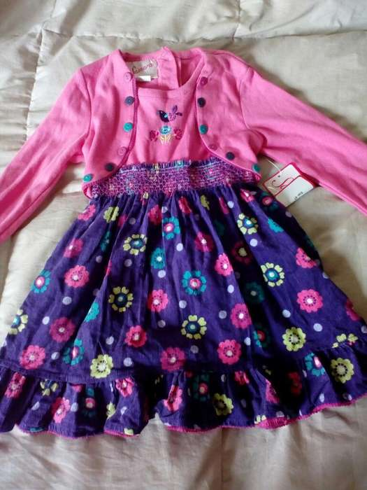Remato Vestido Niña Talla 4