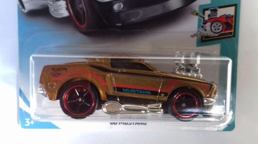 Hot Wheels 68 Mustang Tooned Super Treasure Hunt super TH / 0992786809