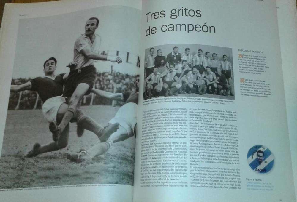 Libro de Racing La Academia.
