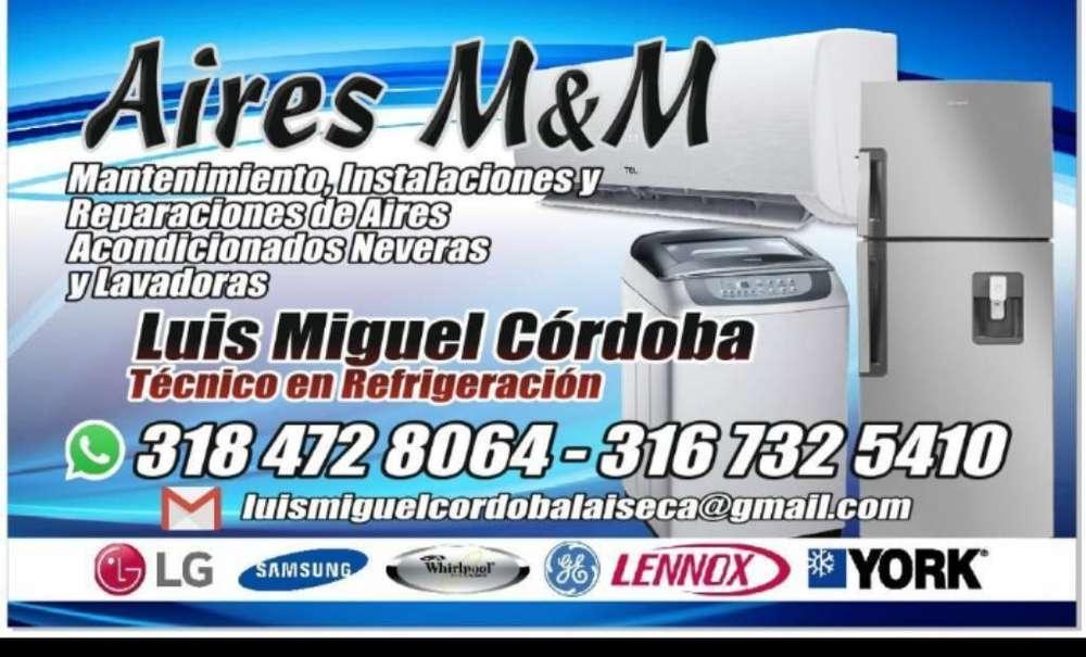 Tecnico de Lavadoras Neveras Y Aires Ac.