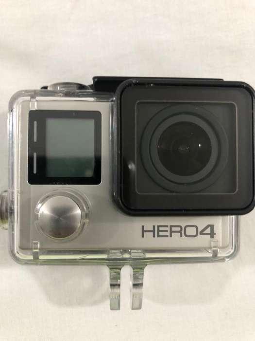 Go Pro 4 Hero Silver 4K Y Demas