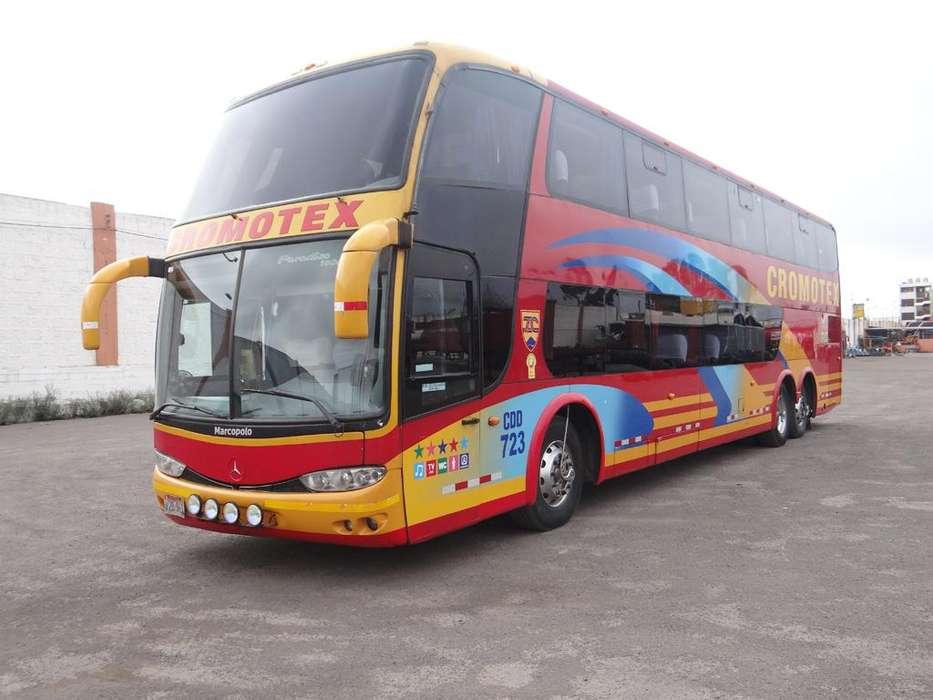 BUS MERCEDES BENZ O500 RSD 2010 DOBLE PISO EN PERFECTO ESTADO