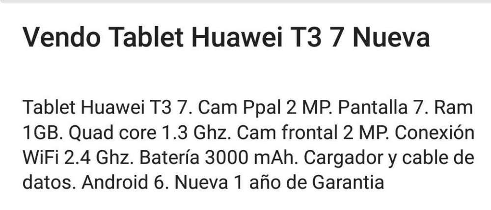 Tablet Huawei T3 7