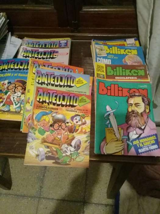 Revistas Anteojitos Y Billiken