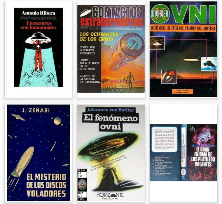23 Libros de Ovnis, Extraterrestres, Etc