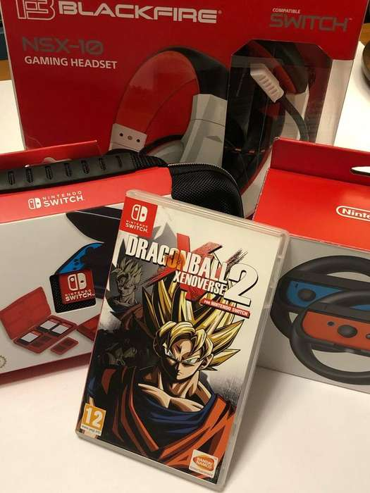 Pack Accesorios Nintendo Switch