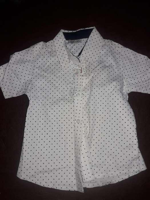 Camisa de Nene 2 Años