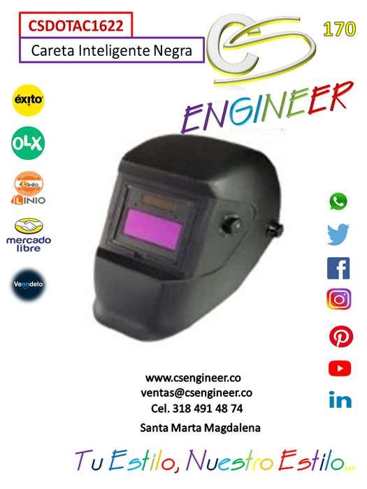 CS ENGINEER - Careta Inteligente Negra