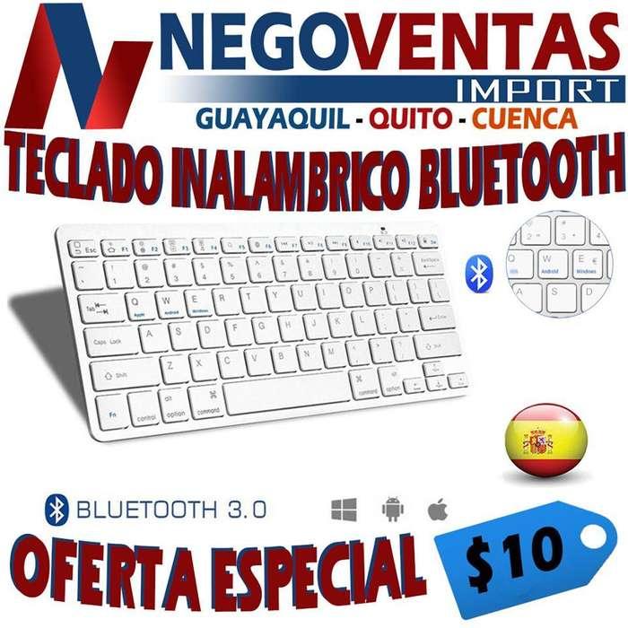 TECLADO INALAMBRICO BLUETOOH PARA SMART DE OFERTA
