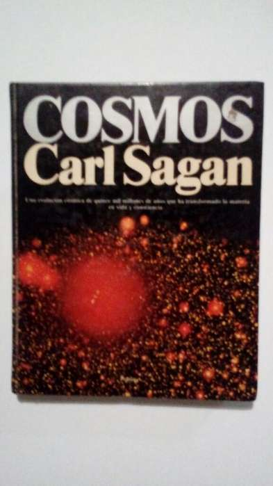 Libro Cosmos de Carl Sagan