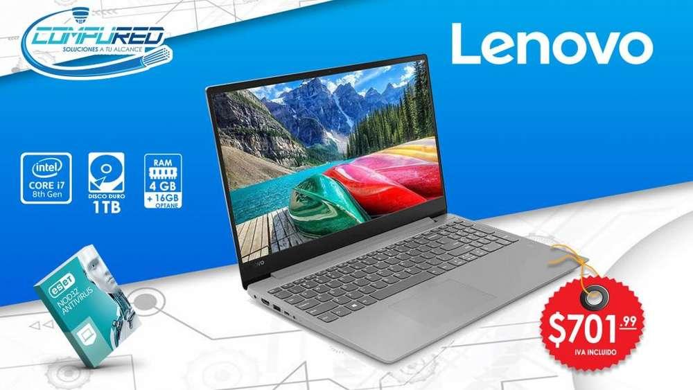 Laptop Notebook Lenovo Ideapad 330s Ci7 8550u 4gb 16gb 1tb